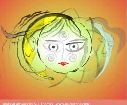Three Suns (watercolour)